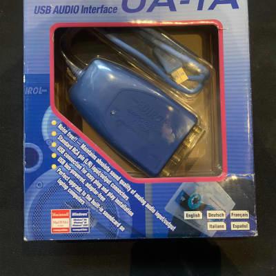Edirol  UA-1A 1in/1out audio interface blue
