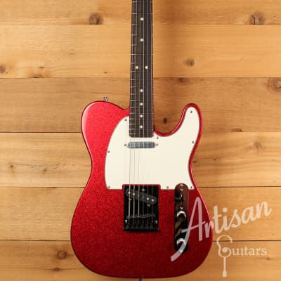 Fender Custom Shop Super Custom Deluxe Telecaster Limited Edition, Red Sparkle NOS