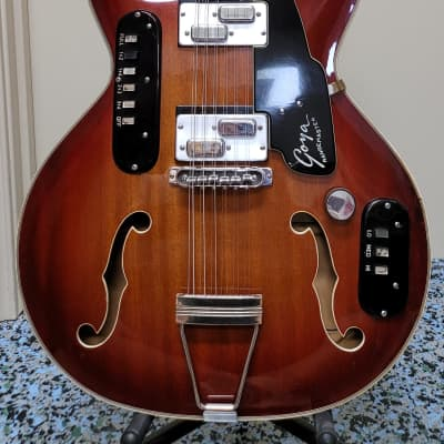 Circa 1967 Goya Model 1209 Rangemaster 12 String Semi-Acoustic for sale