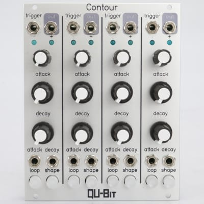 QU-Bit Electronix Contour Envelope Eurorack Synthesizer Module #40859