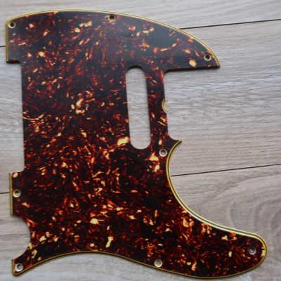 Fender Telecaster Celluloid Nitrate 8 hole1960 thru 1971  Tortoise USA Vintage 60's 70's avri