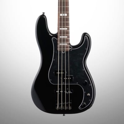 Fender Duff McKagan Deluxe Precision Electric Bass, Rosewood Fingerboard (with Gig Bag)