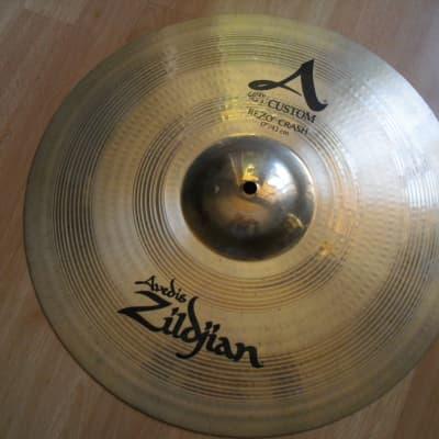 """17"""" Avedis Zildjian A Custom Rezo Crash Cymbal"""