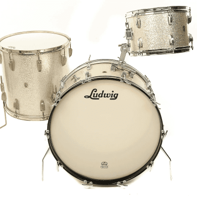 """Ludwig No. 986 New Yorker Outfit 8x12 / 12x22"""" Drum Set 1960s"""