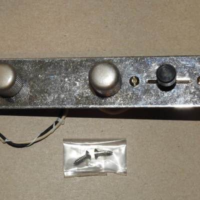Aged Gotoh Loaded Telecaster Control Plate Wiring Harness Bourns Oak Grigsby Switchcraft Russian PIO