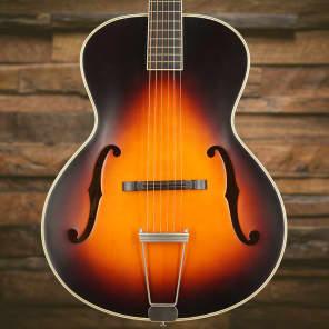 Epiphone Masterbilt Century Collection Zenith Classic Acoustic/Electric Guitar w/ F-Holes Vintage Sunburst