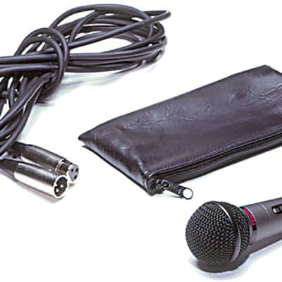 Fender P52S-MIC-KIT Cardioid Dynamic Microphone with Cable, Stand Clip, Pouch