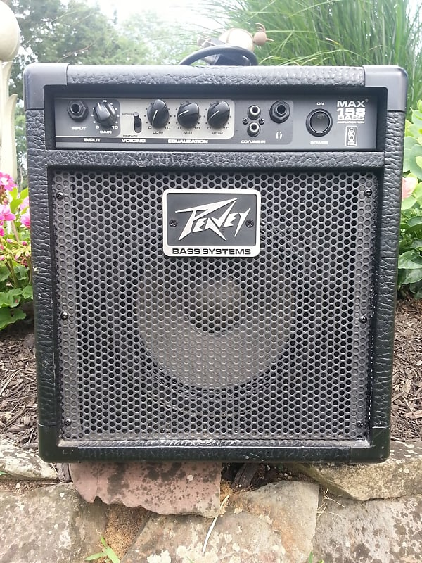 peavey max 158 15 watt bass guitar combo amp reverb. Black Bedroom Furniture Sets. Home Design Ideas