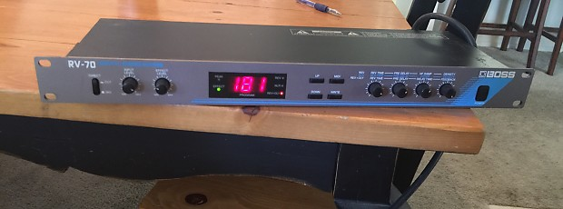 Rv-70 digital stereo reverb boss rv-70 digital stereo reverb.