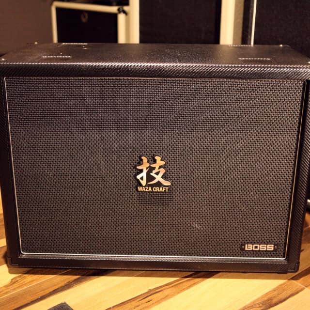 Boss Waza Amp  212 Cabinet Mint image