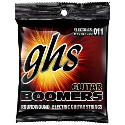 GHS Boomers Electric Guitar Strings 11-50, GBM