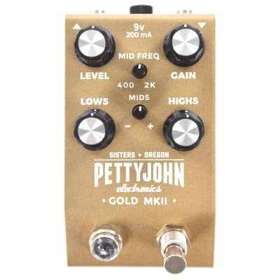 Pettyjohn Electronics Gold Overdrive Mk II