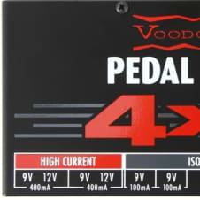 Voodoo Lab Pedal Power 4x4 FREE Shipping!