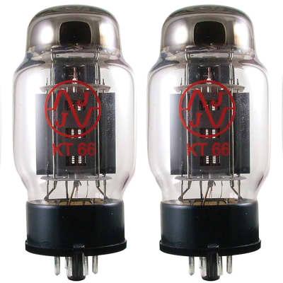 JJ Power Vacuum Tube, KT66, Matched Quad