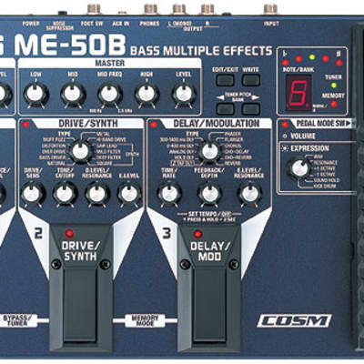 Boss ME-50B Multi Effects Bass Pedal with COSM for sale