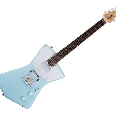 Sterling by Music Man STV60HH-DBL St. Vincent HH Daphne Blue for sale