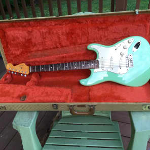 Fender Stratocaster Strat 62 AVRI 1987 Surf Green for sale