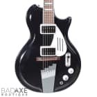 Supro Black Holiday Americana Series Jet Black Shop Demo image