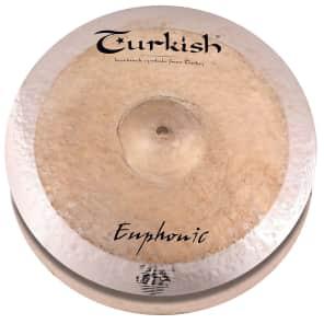 "Turkish Cymbals 15"" Euphonic Series Euphonic Hi-Hat EP-H15 (Pair)"
