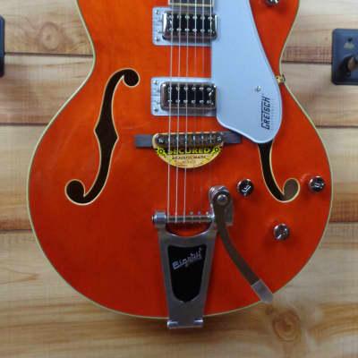 New Gretsch® G5420T Electromatic Hollow Body Single-Cut Guitar Orange Stain w/Hardshell Case