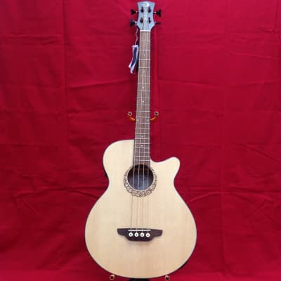 Luna LAB 30 Tribal  thin acoustic bass for sale