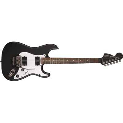 Fender Squier Contemporary Active Stratocaster HH Laurel Fingerboard, Flat Black