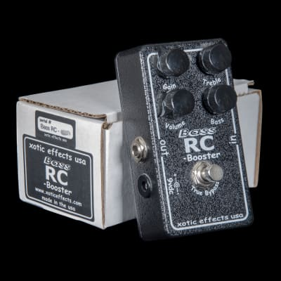 Xotic Effects Bass RC Booster Pedal