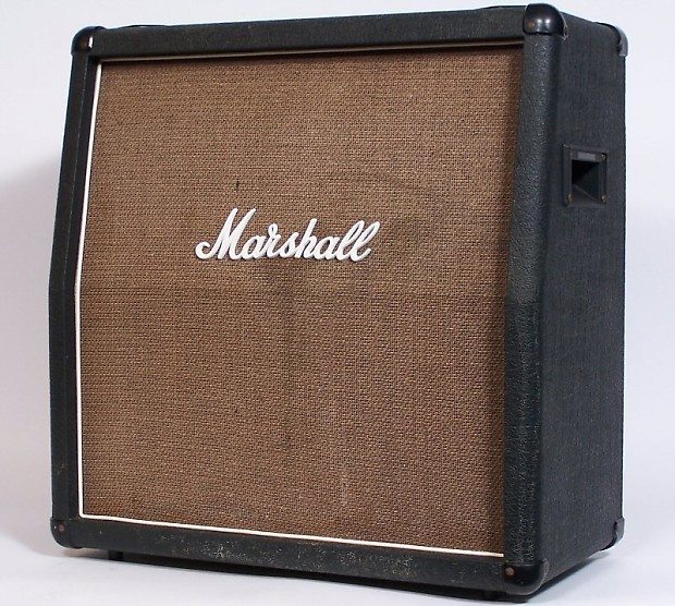 Marshall VINTAGE 80'S 4X10 1965A CABINET 140 WATTS 8 OHMS | Reverb