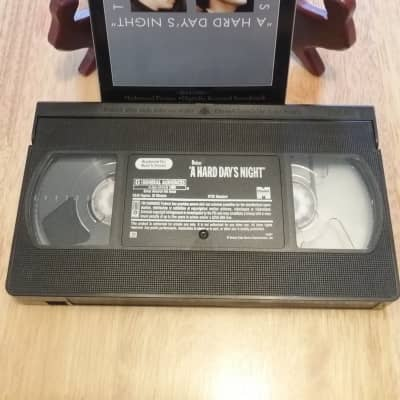 VHS Vintage Artist --The Beatles--A Hard Days Night