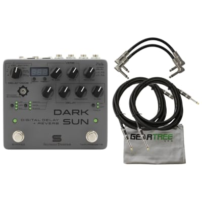 Seymour Duncan Mark Holcomb Dark Sun Digital Delay + Reverb Pedal w/ Cloth and 4 Cables