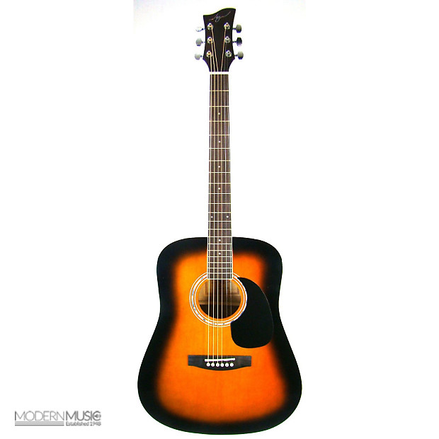 jay turser jj45 pak acoustic guitar package tobacco sunburst reverb. Black Bedroom Furniture Sets. Home Design Ideas