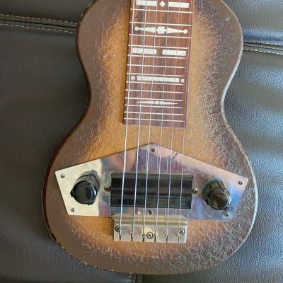Kalamazoo Oriole Lap Steel 1939 Brown Crackle for sale