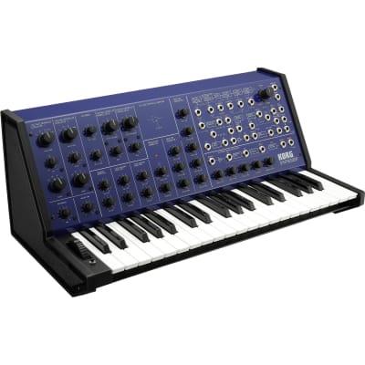Korg MS-20 FS Monophonic Analog Synthesizer 37 Mini Keys Blue