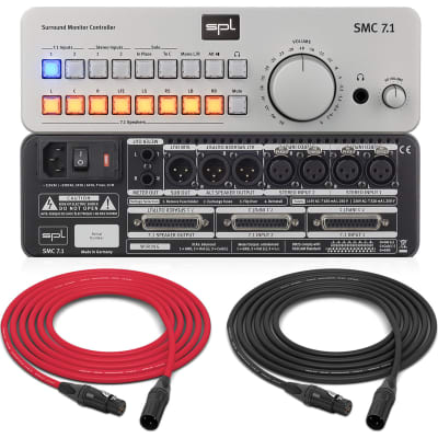 SPL SMC 7.1 | 7.1 Surround Monitor Controller (Silver) | Pro Audio LA