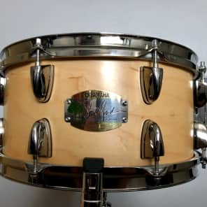 "Yamaha MSD1365SJ Steve Jordan Signature 13x6.5"" Maple Snare Drum"