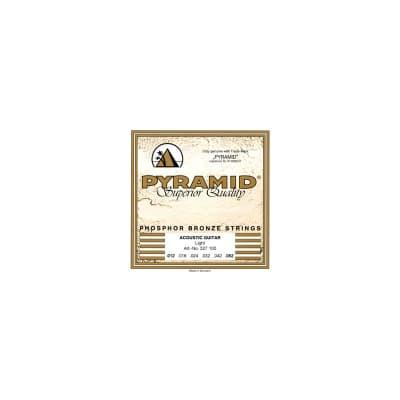 Pyramid Western Folk Premium Phosphor Bronze Guitar Strings Light 12-52