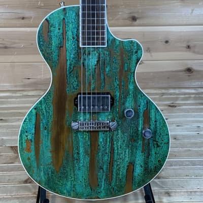 Berumen CopperTop Electric Guitar USED - Verdi Gris for sale