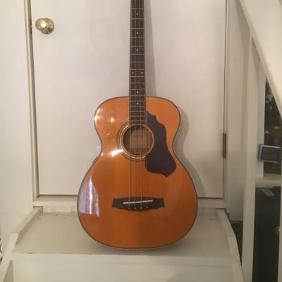 Aria 4 string acoustic bass 2000 clear for sale