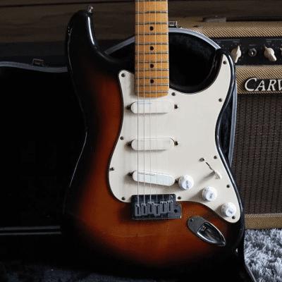 Fender Strat Plus deluxe 1989 Sunburst Maple for sale