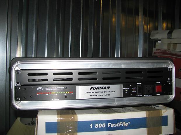furman pf pro r power factor power conditioner w skb rack reverb. Black Bedroom Furniture Sets. Home Design Ideas