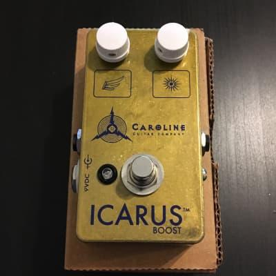 Caroline Guitar Company Icarus Boost 2011 Burnished Copper