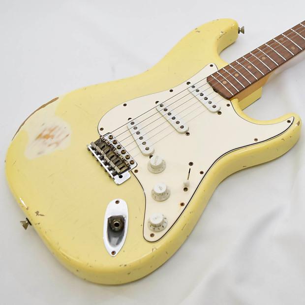 Freedom Custom Guitar Research S O ST 60's M/J AL2P SP aged / Pleked