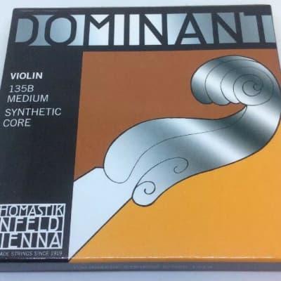 Thomastik Dominant 135B Violin String Set 4/4 Size Ball E