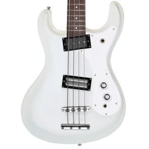 Danelectro '64 Bass White Pearl New, Free Shipping, D64BAS-WHTPRL for sale