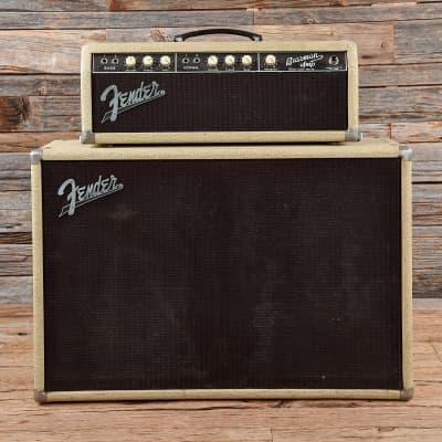 """Fender Bassman 6G6-A Brownface 50-Watt 2x12"""" Piggyback Guitar Amp 1962 - 1963"""