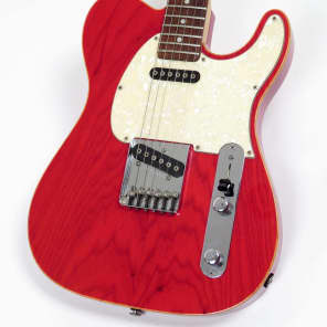 G&L ASAT Classic Custom 1996 Transparent Cherry Rare First Generation Model for sale