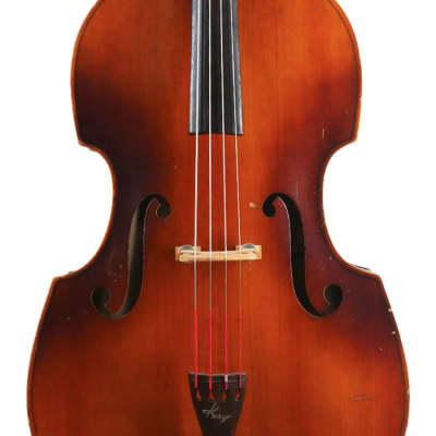 Kay C-1 Double Bass Viol 1958 Vintage Burst for sale