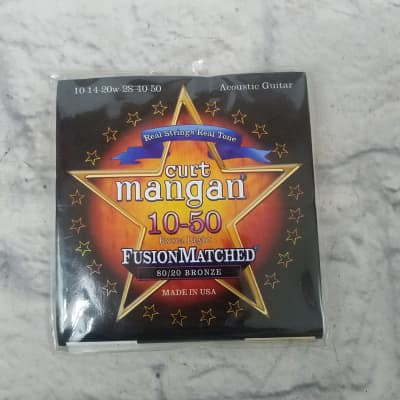 Curt Mangan 21050 10-50 Ex Light Acoustic Strings