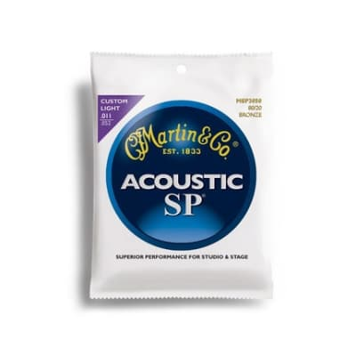 Martin & Co Strings Acoustic SP - CUSTOM LIGHT