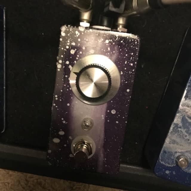 Built by Ryan Mojo mini fuzz one knob 2017 Purple space Mr. Pickles 💤 🔥👹☠️ image
